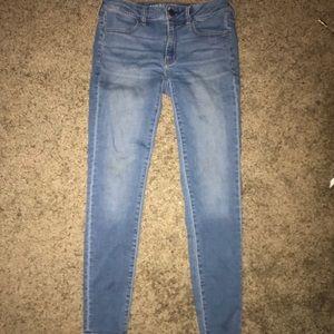 super cute stretch jeans! (AEO)